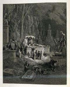 Pantagruel dans Le Quart livre, illustré par Gustave Doré