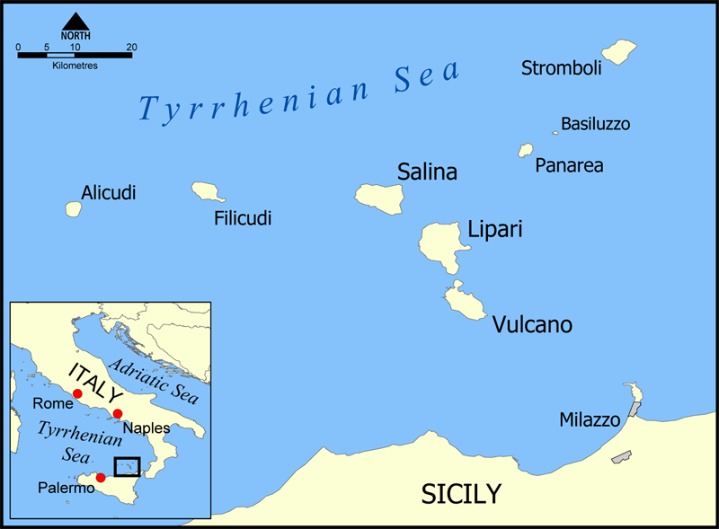 Aeolian Islands Tour From Palermo