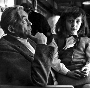 John et Anjelica Huston Source : Wikipédia