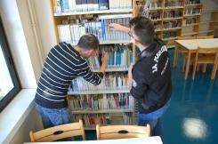 La recherche des livres en rayons